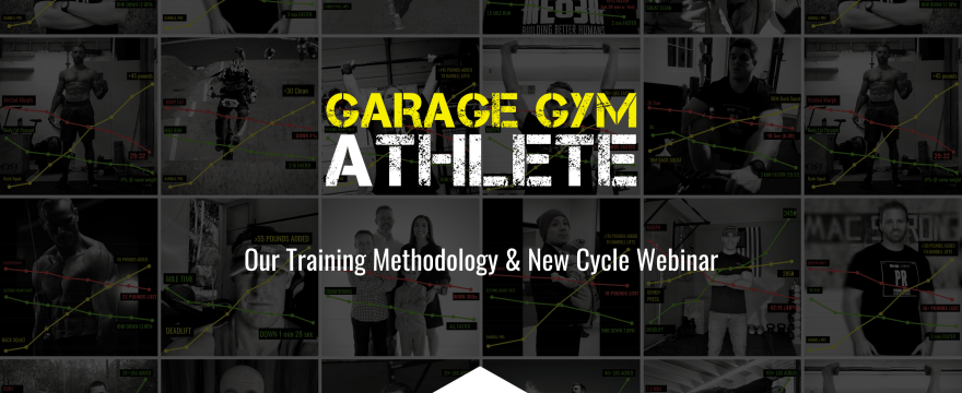garage gym, garage gym athlete, end of three fitness, fitness, new cycles, training methodology, fitness lies, seven different tracks