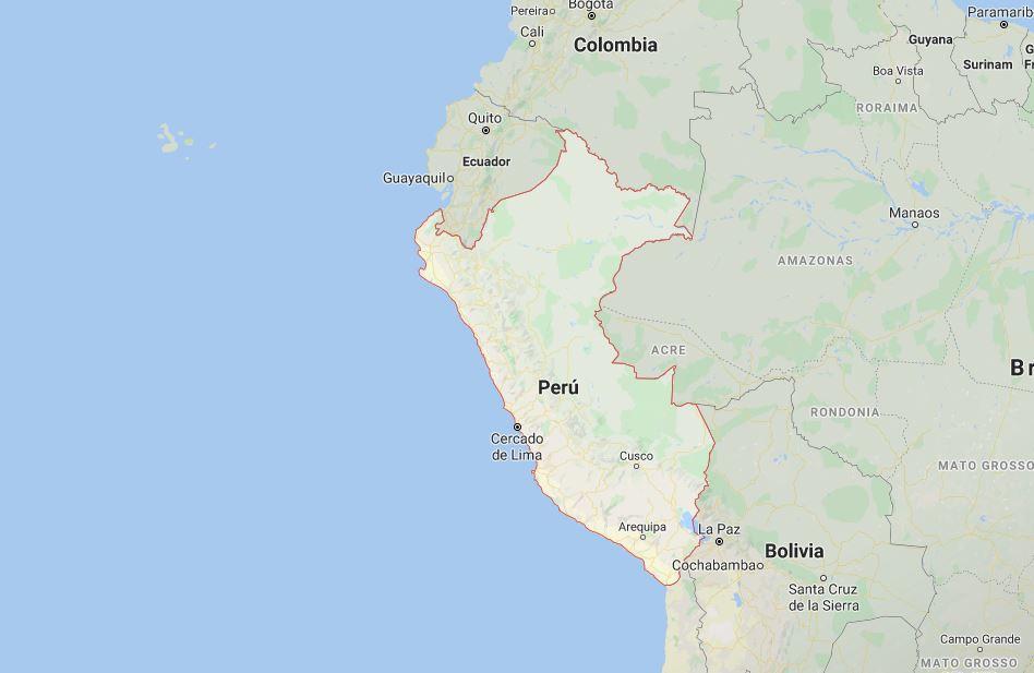Endometriosis en Perú. Situación comentada por un especialista. Mapa del Perú