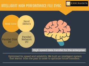 Intelligent high performance file sync.
