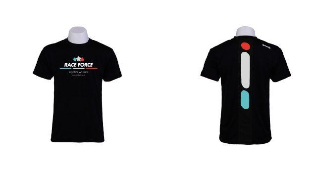 Bonk and Race Force apparel 2 - three dash logo