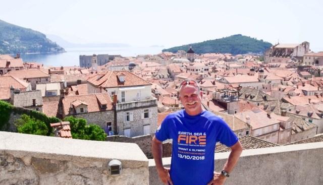 John Lunt at Dubrovnik Triathlon