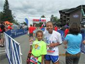 George Jordan's family, Ironman® Lake Placid