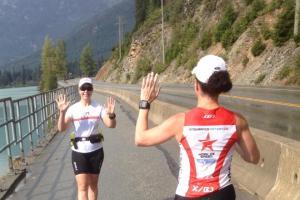 Ann Sloan runs at Canada 2013