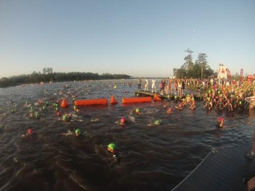 Texas 2014 Swim Start
