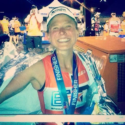 Laura Becker, Ironman Lake Placid Finisher!