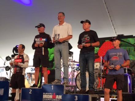 Bruce Thompson, M60-64 AG winner and Kona Qualifier!