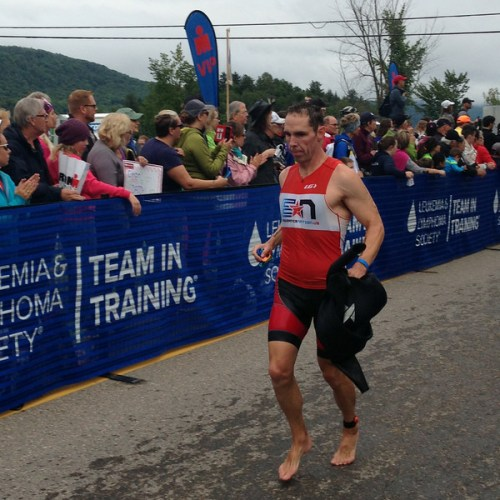 Ironman® Mont Tremblant Post Swim: Coach Patrick of Endurance Nation