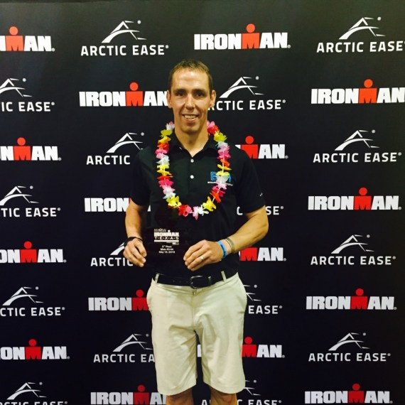 2nd Place Age Group and Kona Bound!