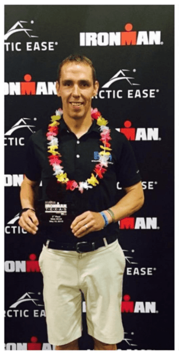 Patrick Qualifies for Kona