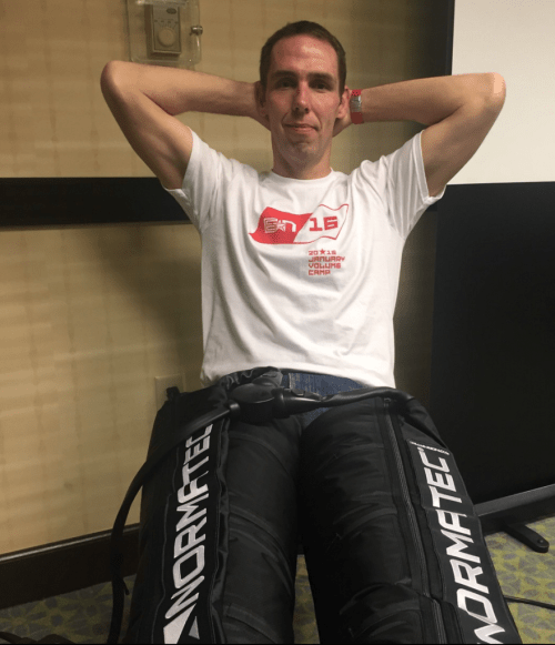 Coach P and Normatech