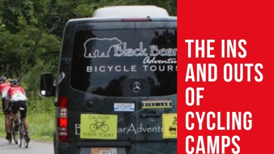 How to put on a cycle camp