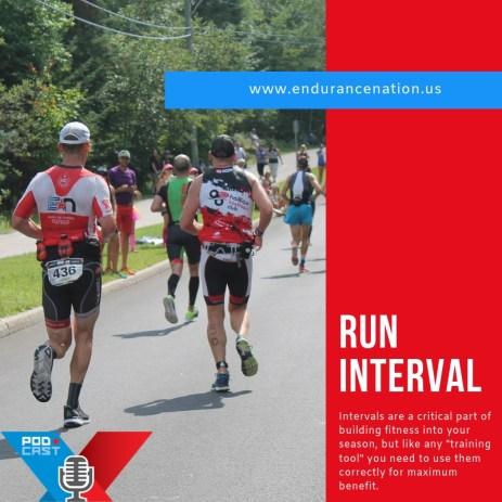 Run intervals