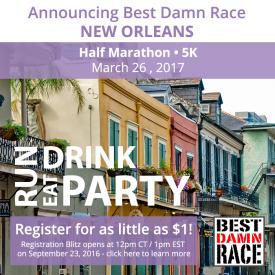 Image result for best damn race nola