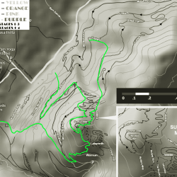 Practice map for Green Mountain Trails