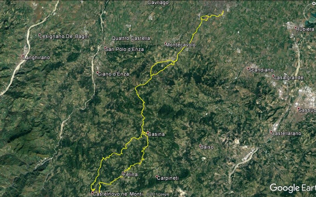 Endurata Elettrica, con notturna, a Castelnovo ne' Monti, Casina e Vezzano Sul Crostolo