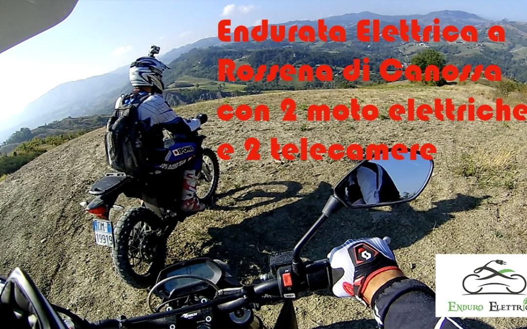 Tour guidato in Enduro Elettrico a Rossena di Canossa del 9/2018