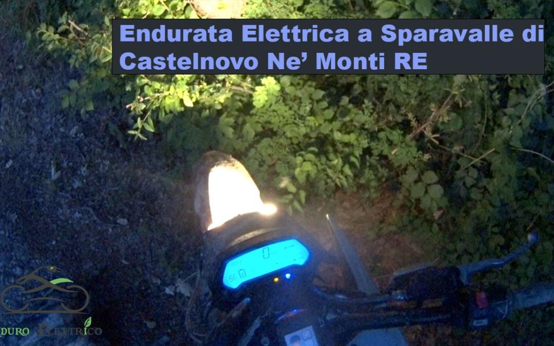 Giro in Enduro Elettrico a Sparavalle di Castelnovo Ne' Monti RE del 6/21
