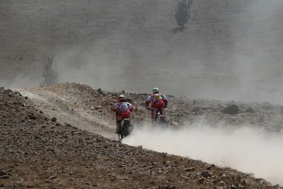 Dakar avec la team Epsilon