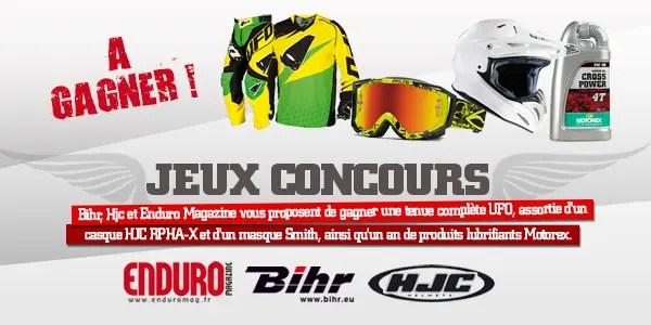 Jeu-Concours Bihr/Enduro Mag