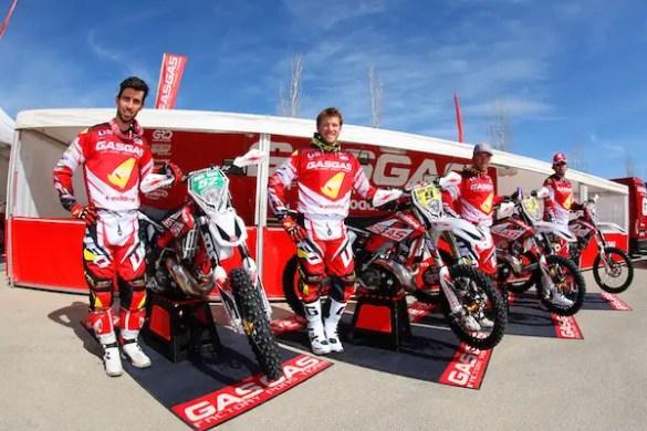 Gas Gas Enduro Factory Team 2015