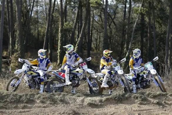 Team Enduro Husqvarna 2015