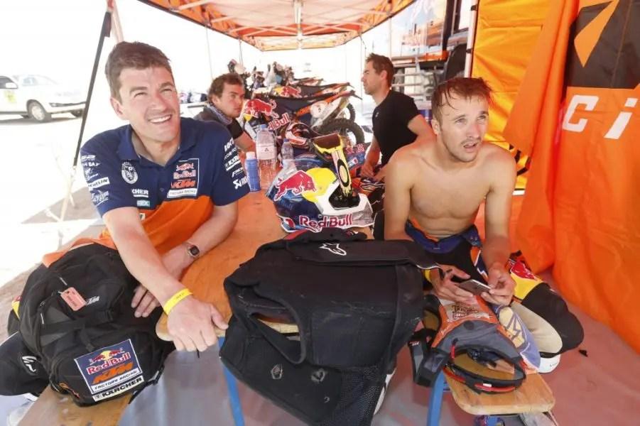 Team KTM @RallyZone Bauer/Barni