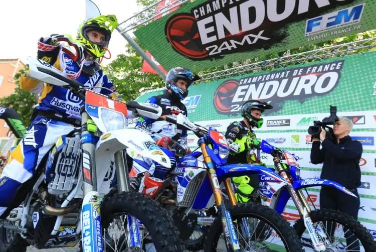 En piste pour le Championnat de France d'Enduro !