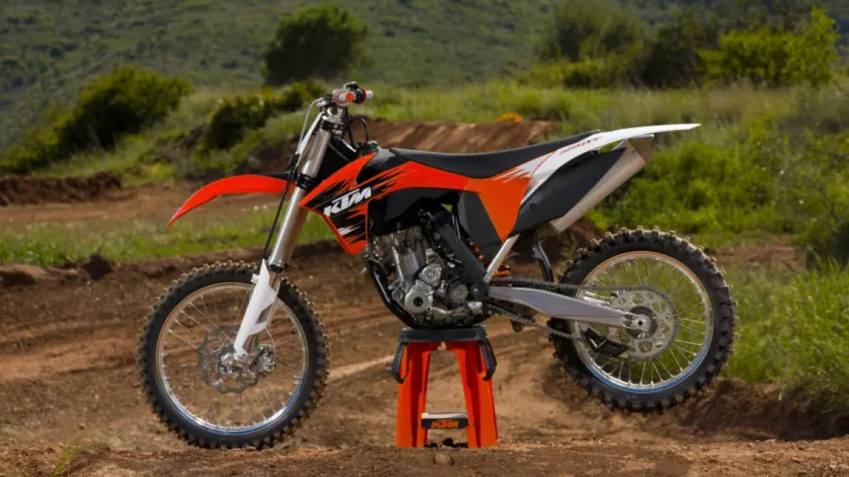 KTM 400 EXC 2011