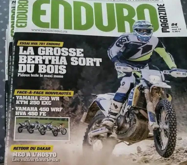 Enduro Magazine #84 : il est là !