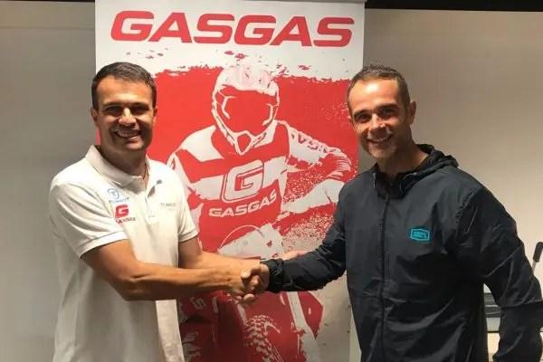 Johnny Aubert rejoint Gas Gas
