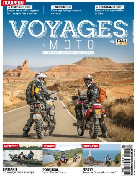 Voyages à moto n°1