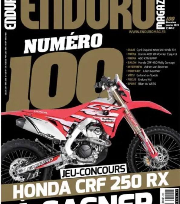 Enduro Magazine n°100 – numéro collector !!!