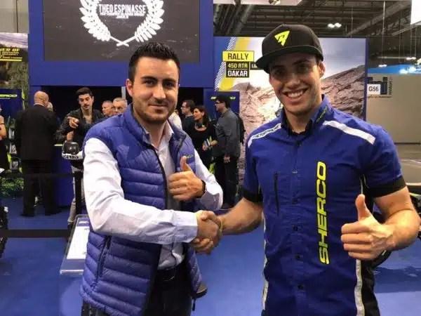 Mario Roman prolonge avec Sherco