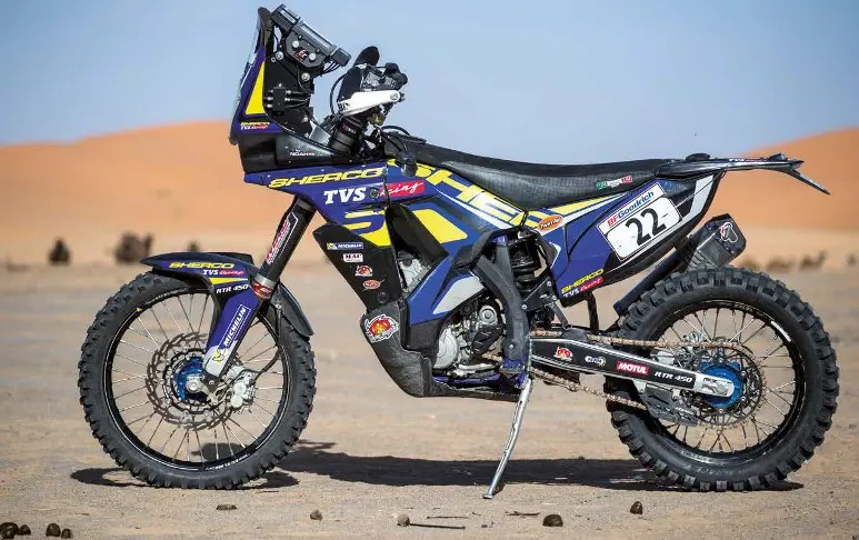 Essai : Sherco 450 TVS Rally Factory