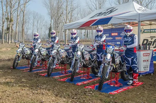 Le DAFY ENDURO TEAM dans les starting-blocks pour 2019
