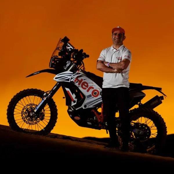 Rallye : Paulo Gonçalves signe avec Hero MotoSports Team Rally