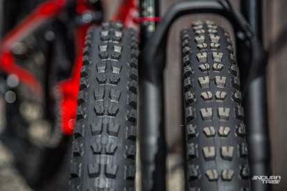 La tendance aux gros pneus n'est par ailleurs pas réservée aux 6Fattie chez Specialized. La marque est convaincue des bienfait d'un plus gros ballon.