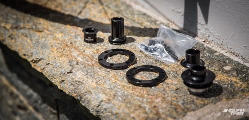 Specialized propose désormais des kits de conversion boost. Ils permettent de convertir au format l'ensemble des roues Roval des gammes précédentes. 59€ contre plusieurs centaines d'euros pour une nouvelle paire de roue...