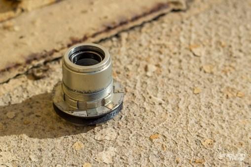 D'une transmission à l'autre, le corps de roue libre n'est pas identique. Ici, le XD permettant l'usage des 11 vitesses Sram.