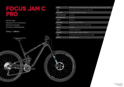 Jam C Pro - 3999 euros - 13,6kg