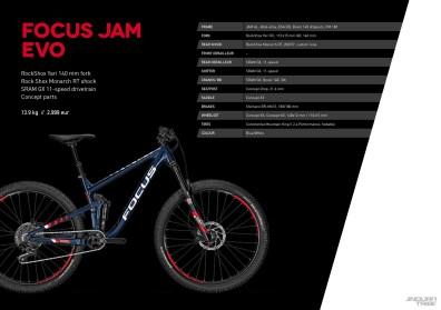 Jam Evo - 2999 euros - 13,9kg