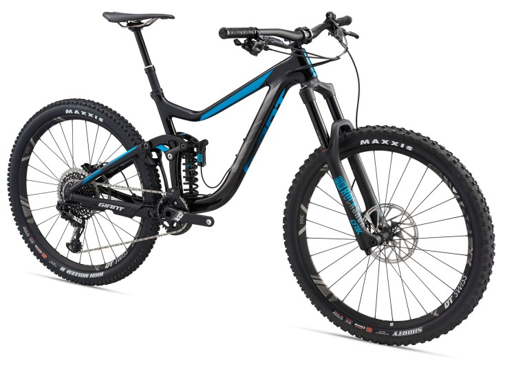 Giant Reign Advanced 0 > 13,6 kg, 7199€.