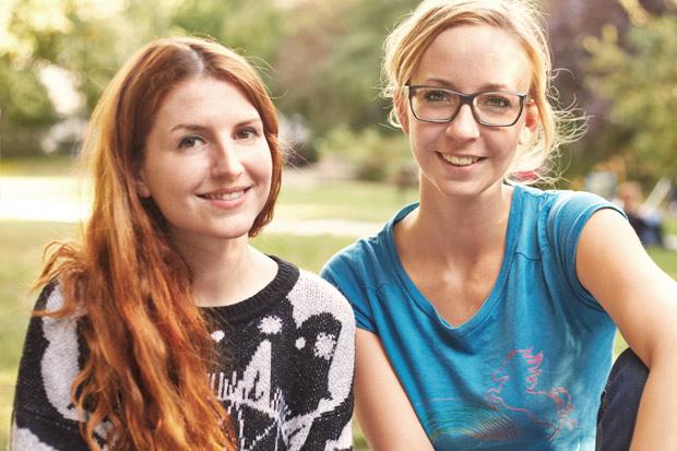 Feli und Martina von Ene Mene Mobile