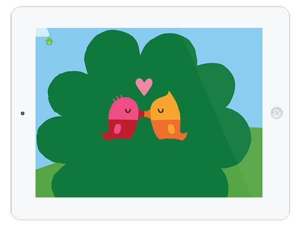 Kinder App über den Wald