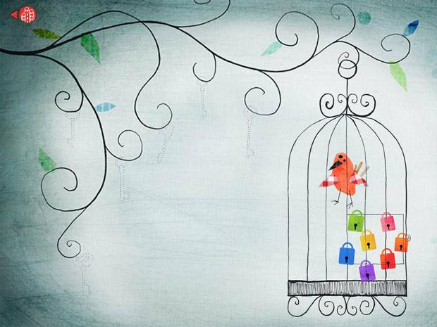 schöne Kinder App mit Mini Spielen
