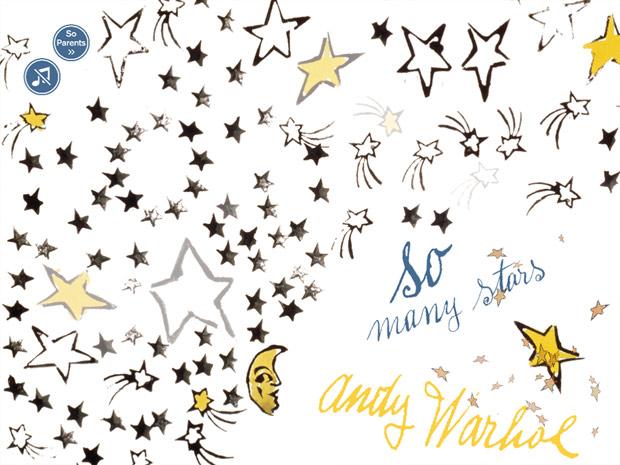 Kunst Kinder App mit Andy Warhol Bildern