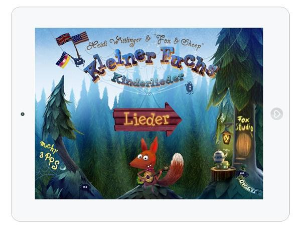 Kinder-App Kleiner Fuchs Kinderlieder zum Mitsingen – Titel