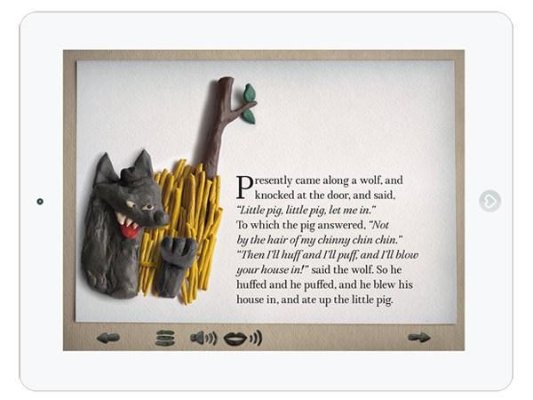 Kinder Märchen App für's iPad