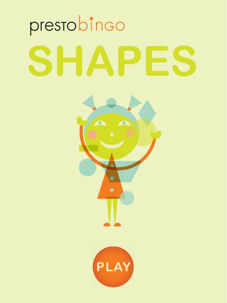 Kinder Suchbild App mit Formen