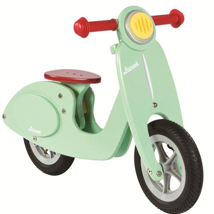 Kinder-Laufrad Vespa aus Holz mint